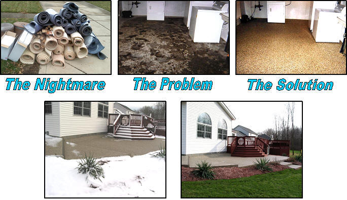 America's #1 Flood Proof Basement Flooring